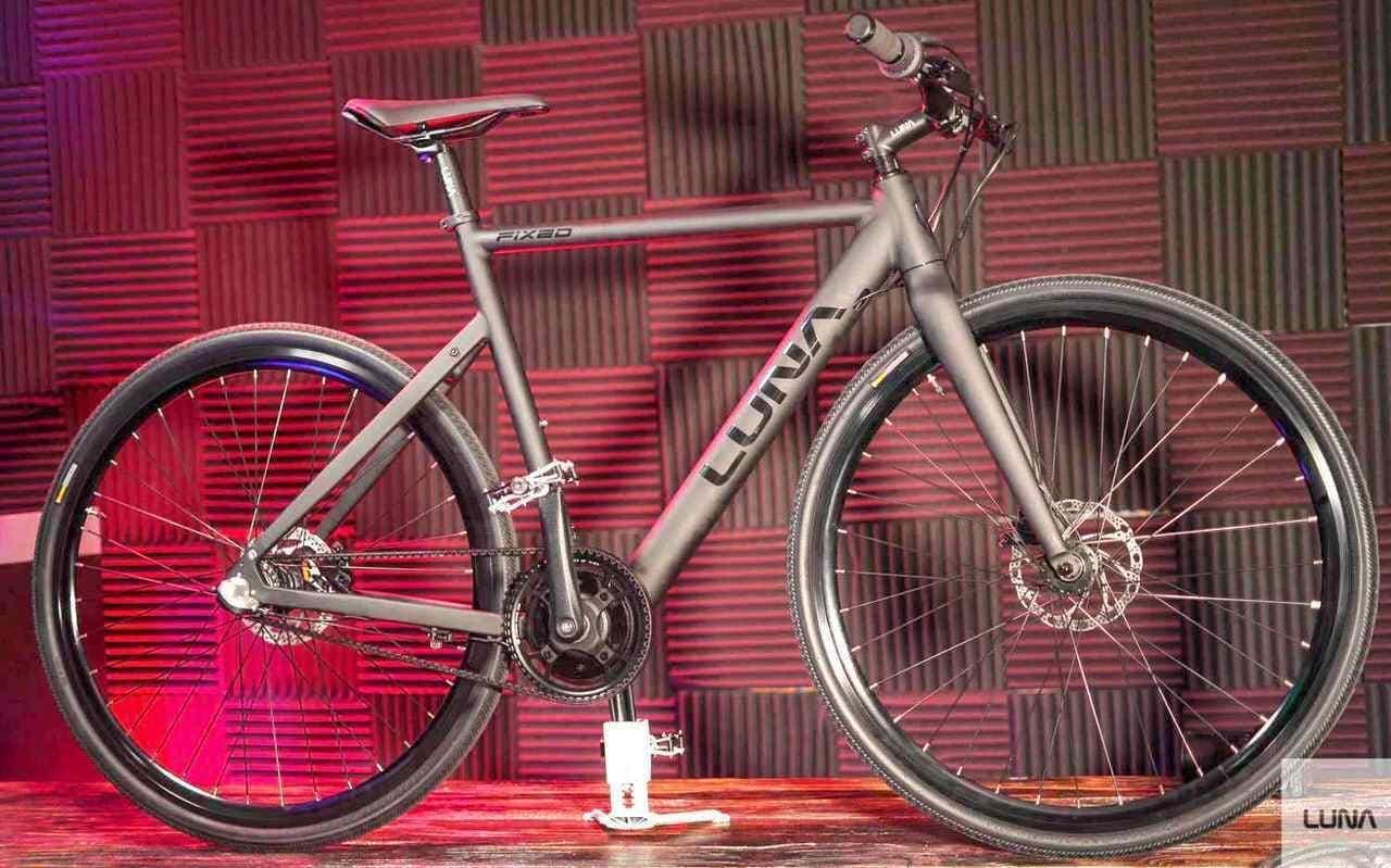 電動アシストに見えない電動アシスト自転車Luna Fixed Stealth Ebike