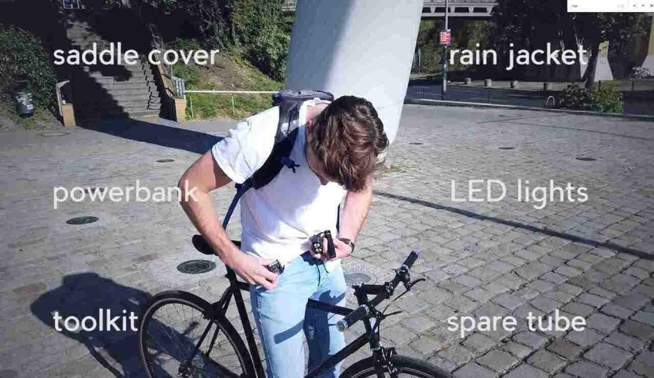 ロックできる自転車用キャリア「AEROCARRIER」―シングルスピードとダッチバイクのいいとこ取り