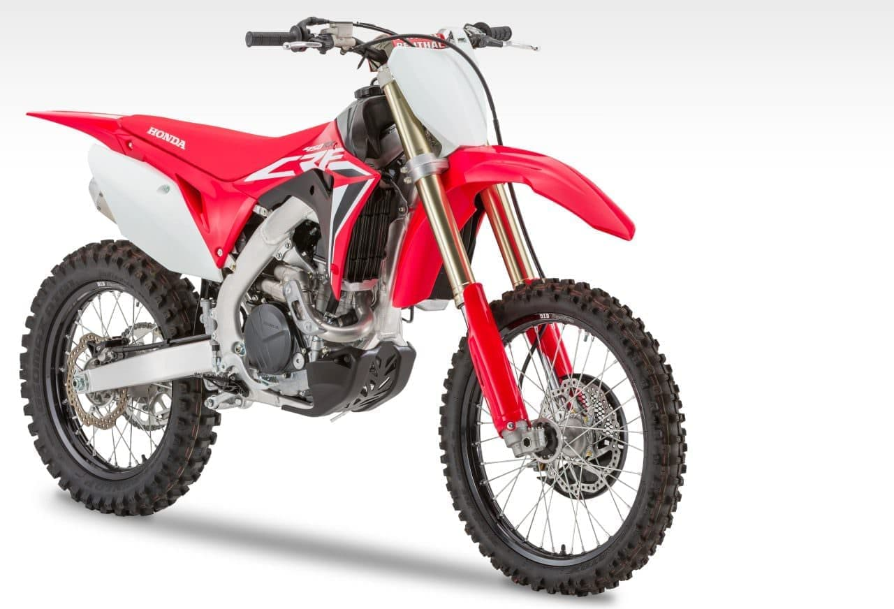 ホンダ「CRF450R」「CRF450RX」2020年モデル発売