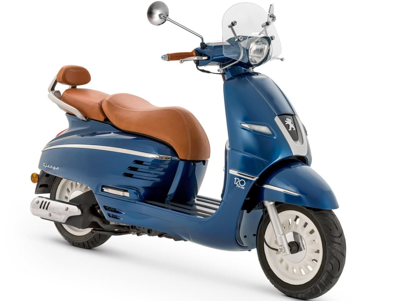 150ccモデルを追加! ― プジョー120年の歴史を体現する「ジャンゴ150 ABS 120thリミテッドエディション」