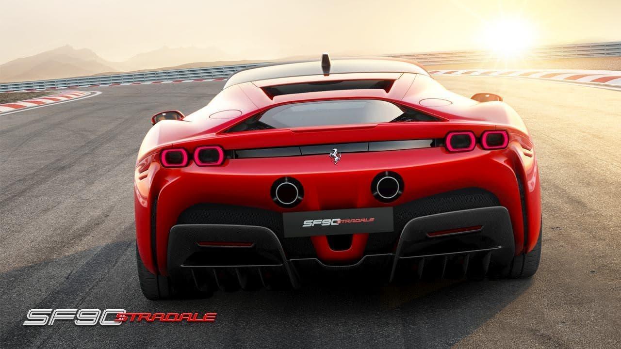 システム出力1,000馬力! フェラーリがPHEV「SF90 STRADALE」を公開