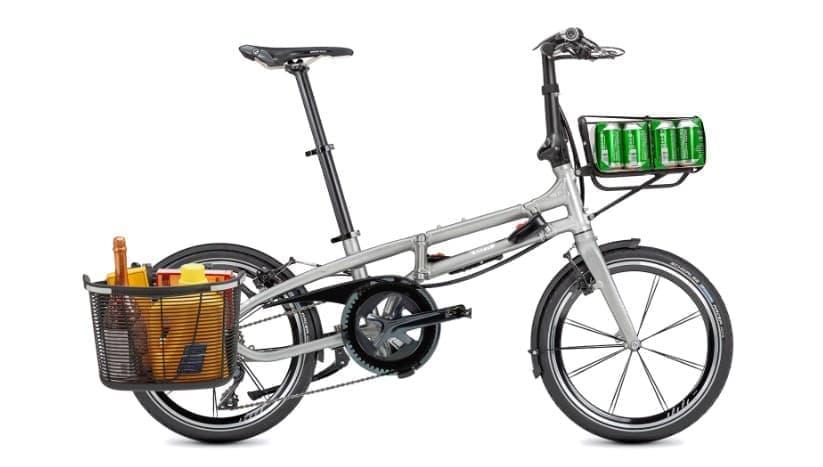 折り畳みTernの20インチ折り畳み自転車「BYB」