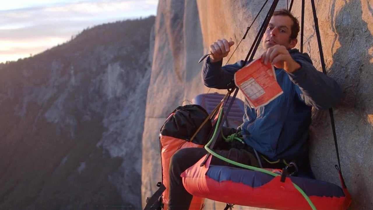 断崖絶壁で一泊!―重さわずか1.5キロのポータレッジ「G7 POD」