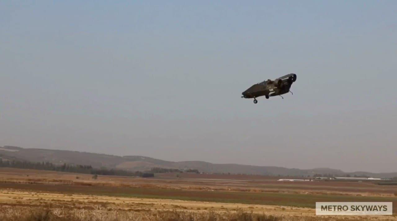 水素で空を飛ぶタクシー「CityHawk」