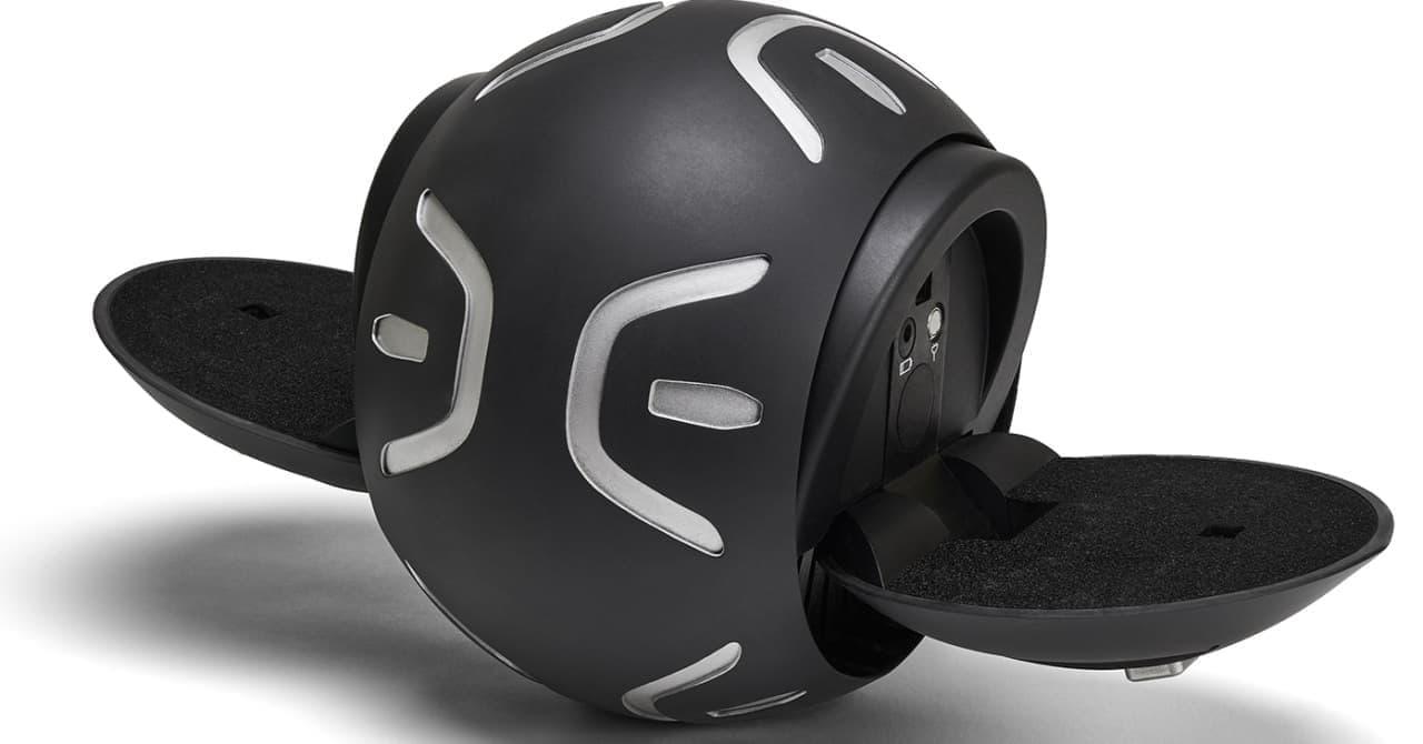 ボウリングボールみたいな乗り物「Jyroball」