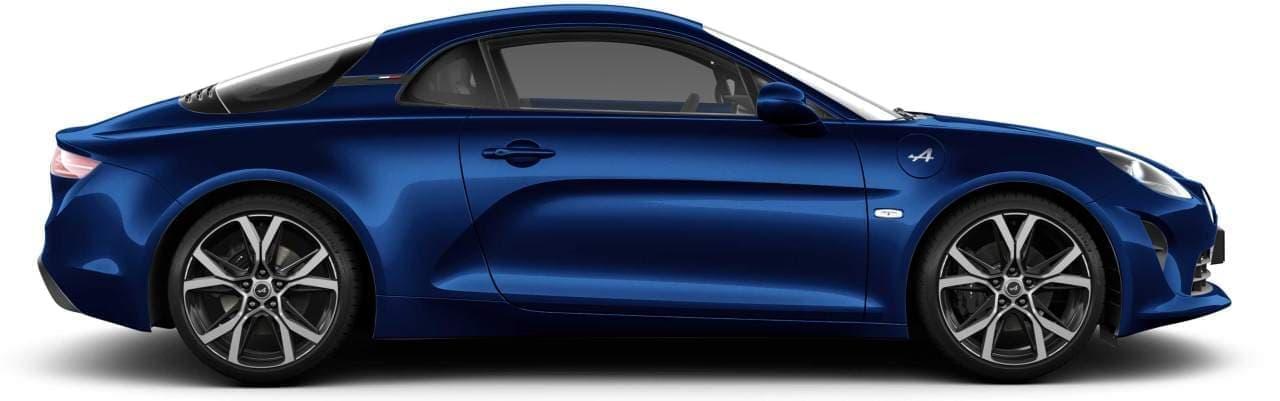 アルピーヌ「A110」に限定モデル「ノワール」と「ブルー アビス」