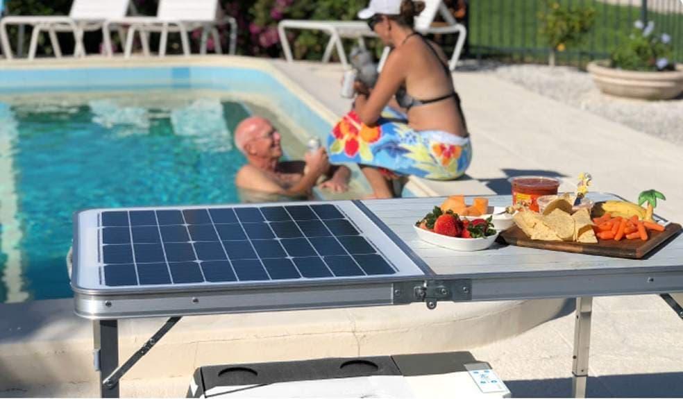 太陽電池クーラーボックス「GoSun Chill」