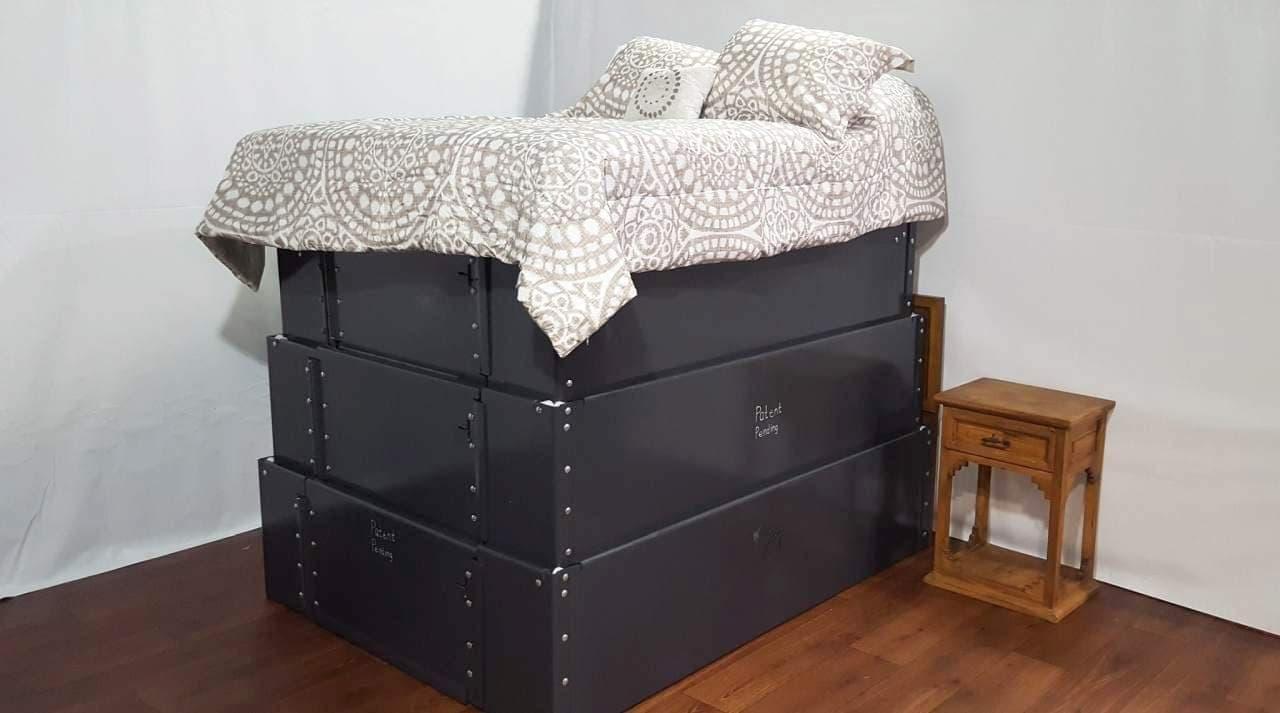 竜巻発生時のシェルターとして使えるベッドVortex Vault Shelter Bed