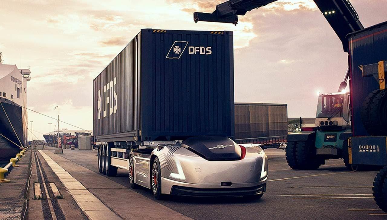 Volvoの自動運転トラック「Vera」の取り組み