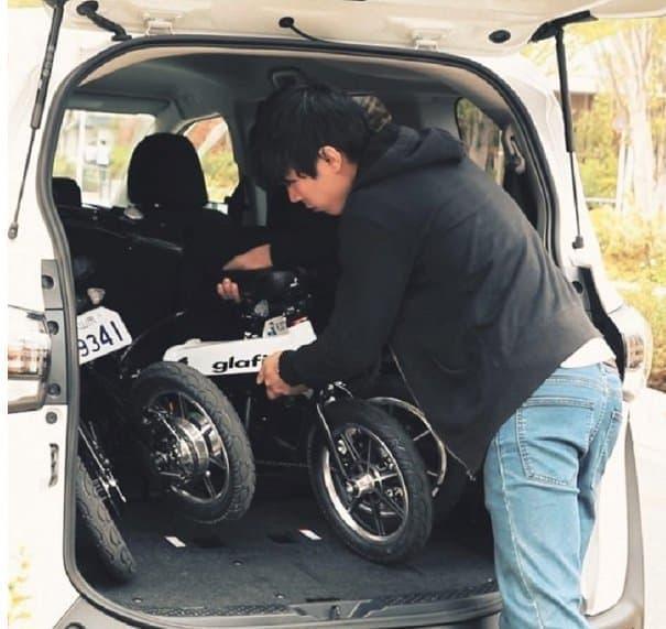 glafitバイクのレンタル試乗」、6月18日スタート