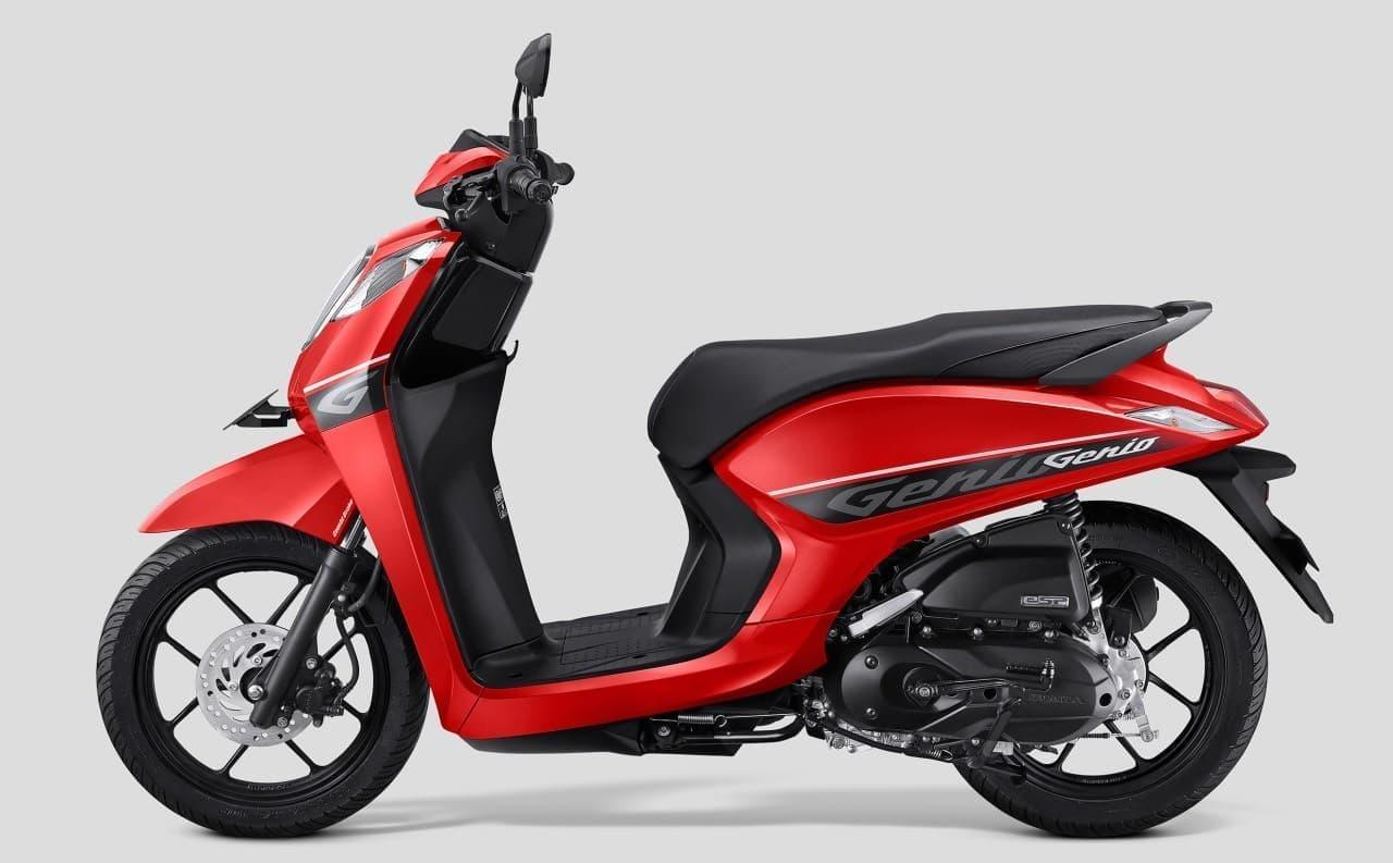 ホンダ「Genio(ジェニオ)」、インドネシアで発売-新型フレームeSAFを搭載