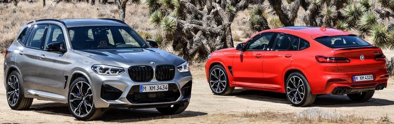BMW 新型「X3 M」「X4 M」発表