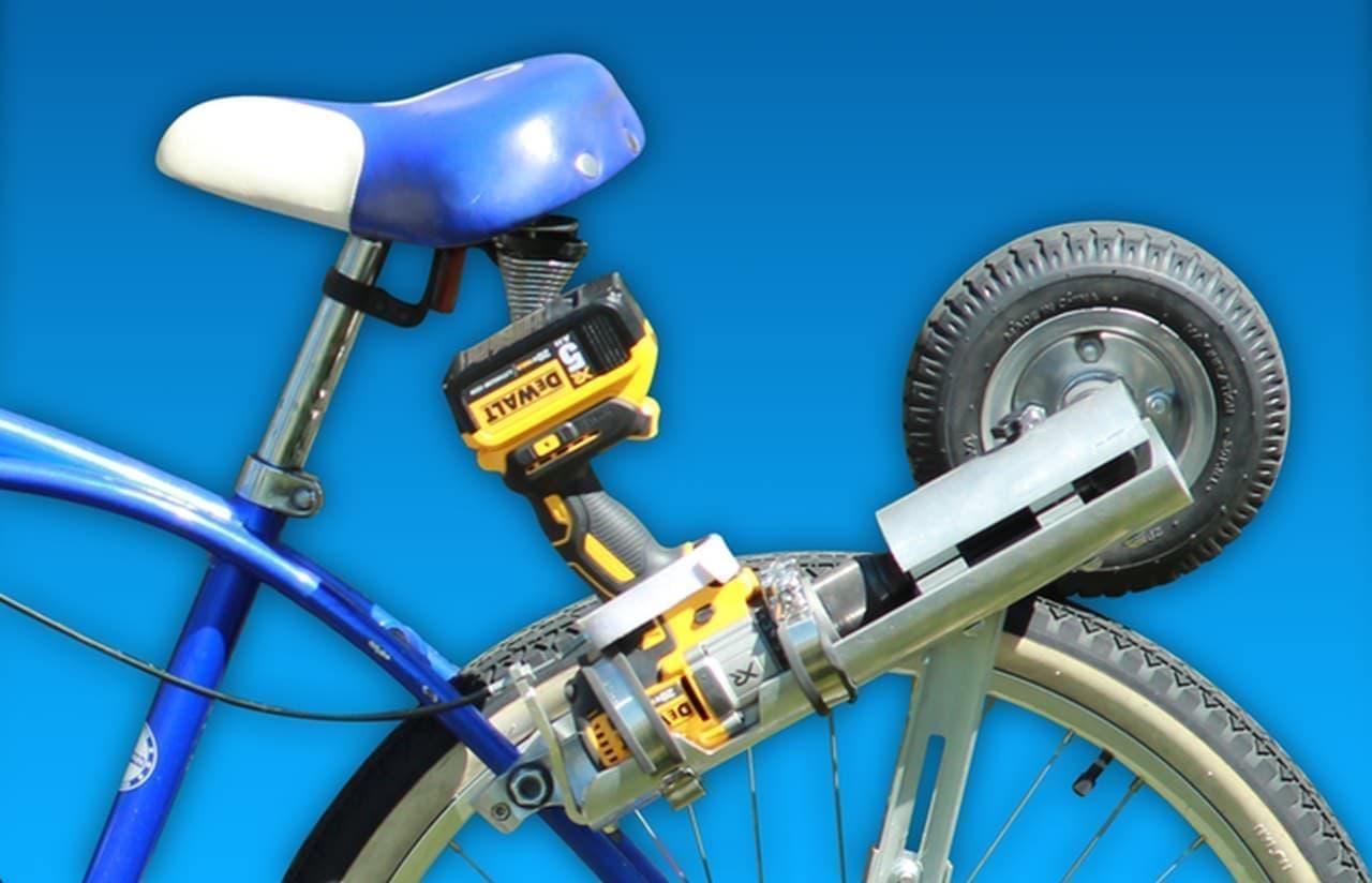 自転車を電動バイクにするコンバージョンキットEz-Bike