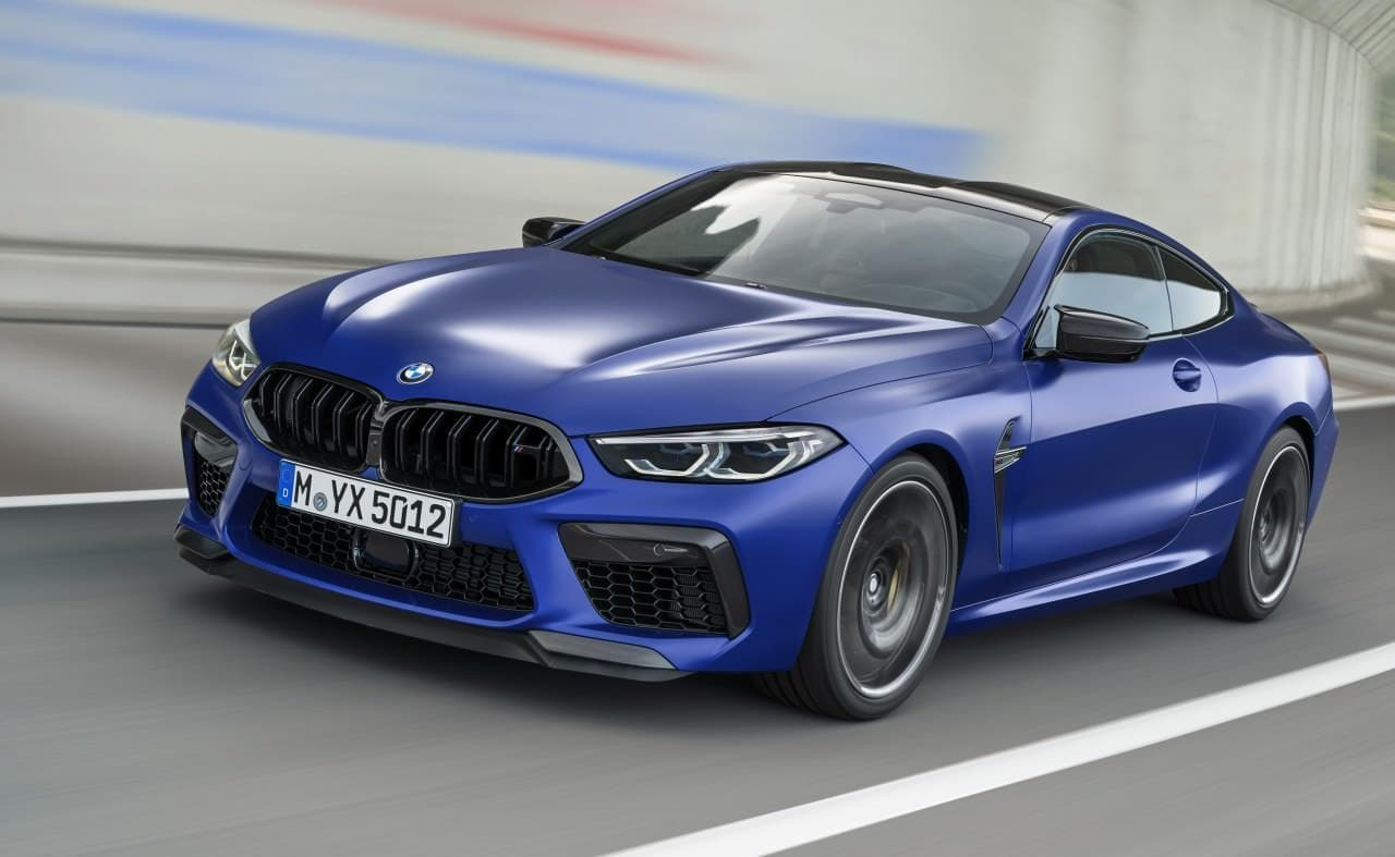 公道走行も可能なサーキット・モデル BMW新型「M8」