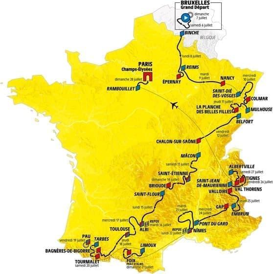 ツール・ド・フランス2019、本日(7月6日)開幕