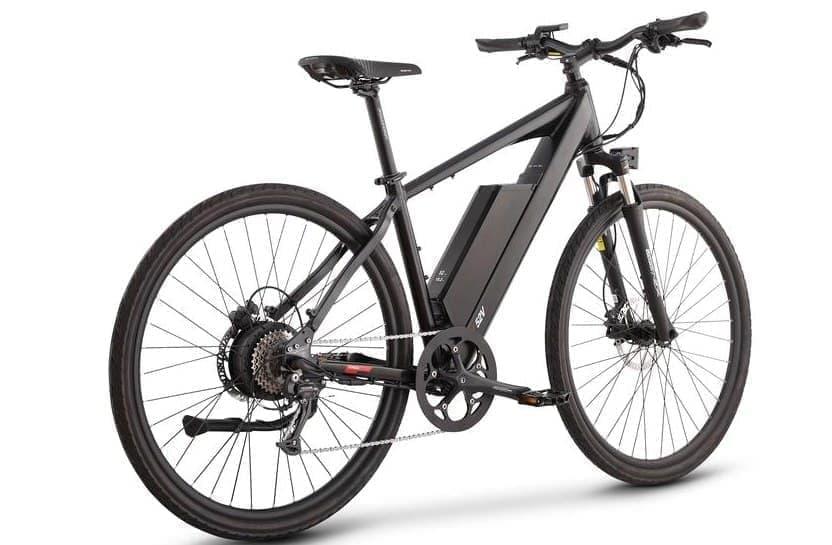 750Wのモーターを搭載した電動モペッドJuiced Bikes「CrossCurrent S2」
