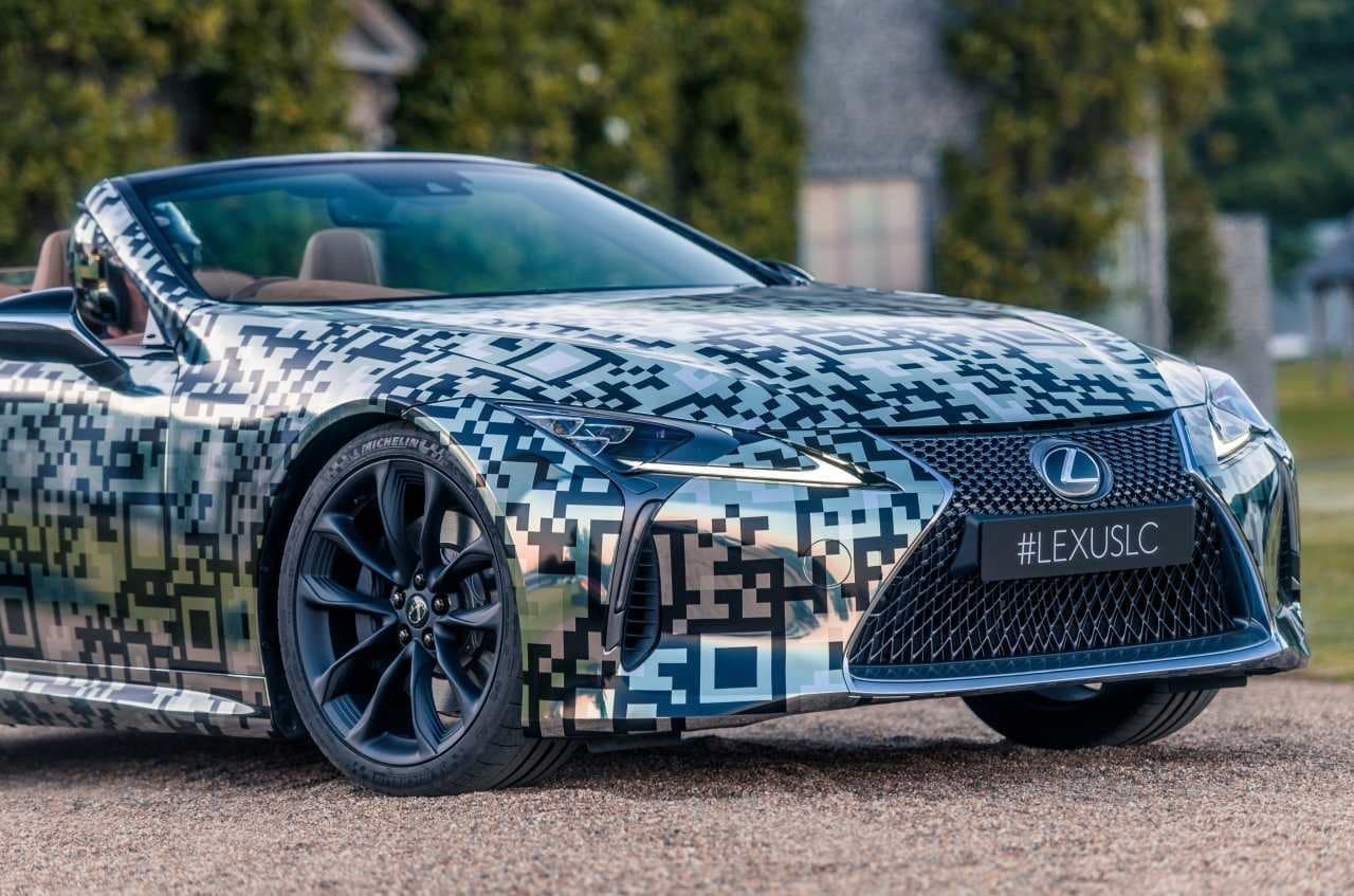 LEXUS「LC」コンバーチブルモデル プロトタイプを初披露