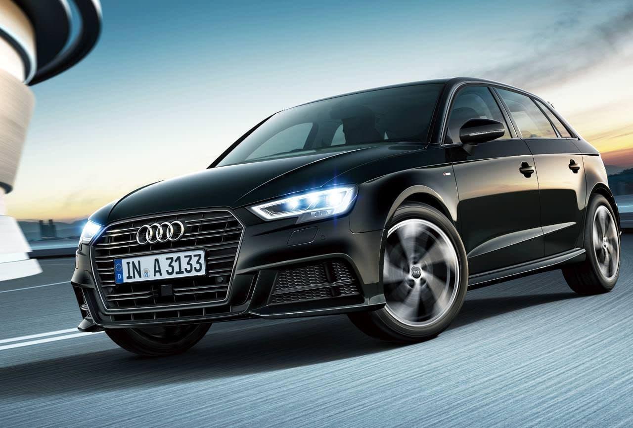 Audi「A3」にブラックアクセントで精悍なデザインの限定モデル「S line black styling」