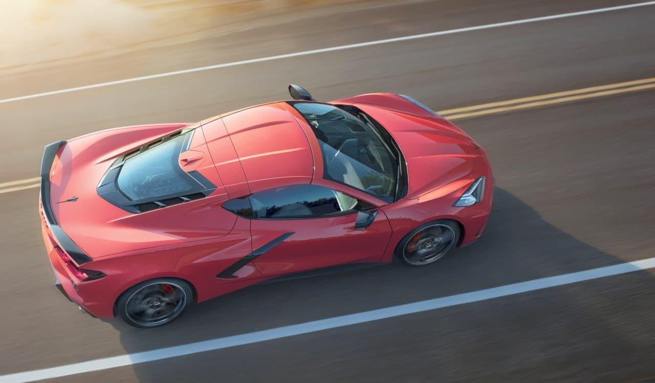新型「シボレー・コルベット・スティングレイ」2020年モデル