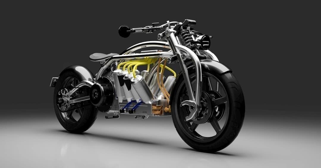 Curtissによる電動バイク「Hades」