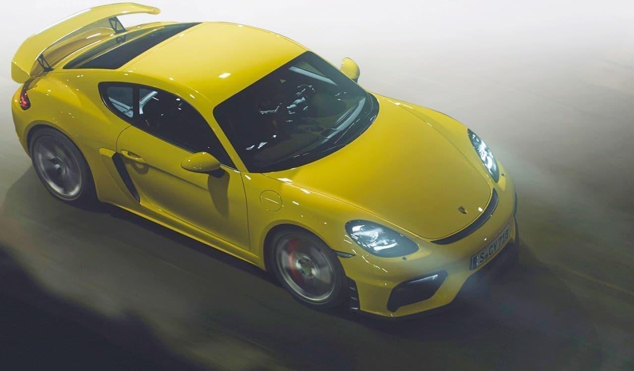 ポルシェ「718ケイマンGT4」予約受注開始