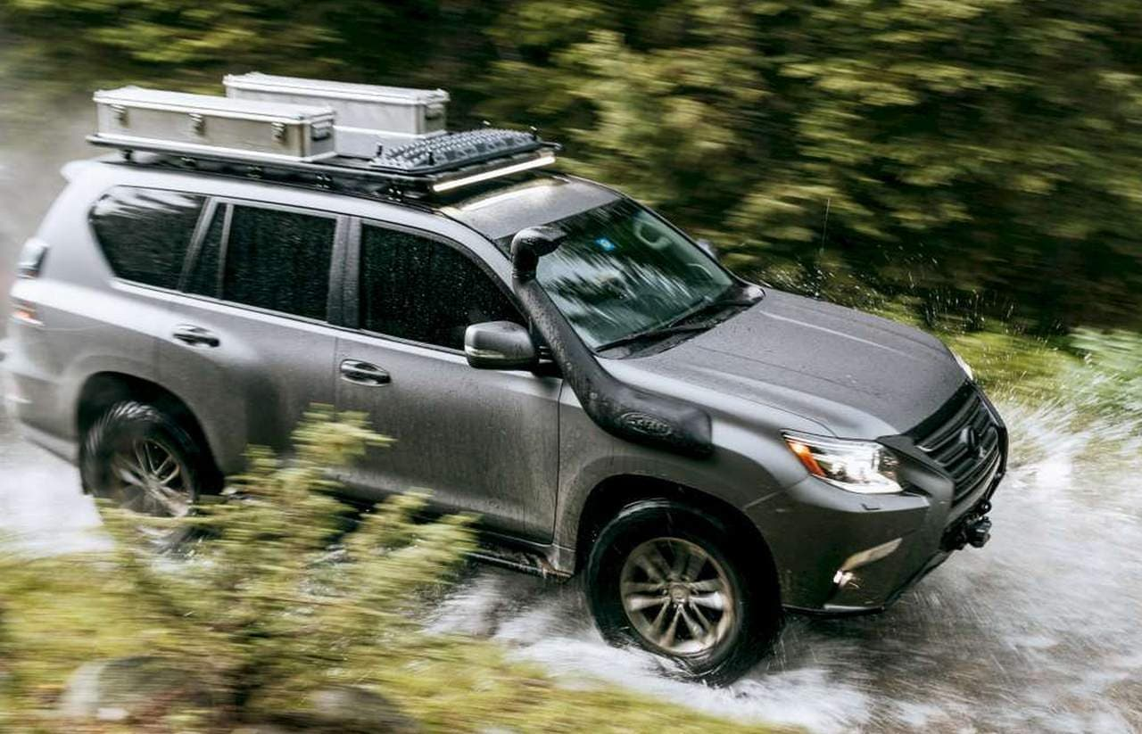 Lexusの本格オフロードコンセプト「GXOR」