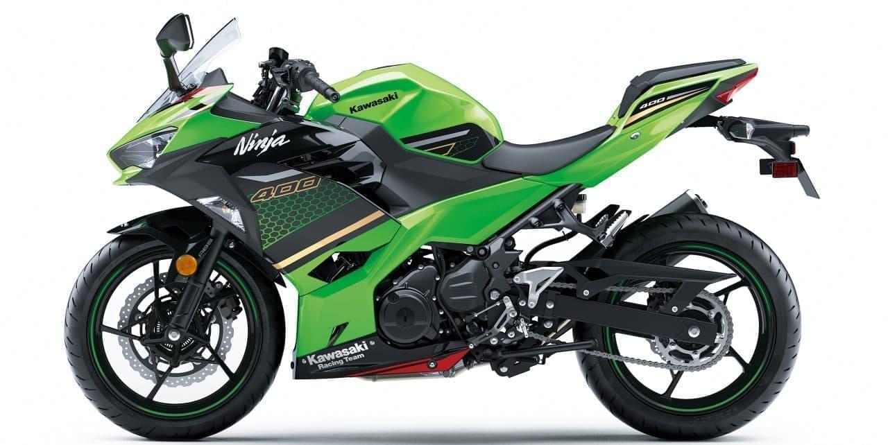 カワサキ「Ninja 400」「Ninja 400 KRT EDITION」カラー&グラフィック変更