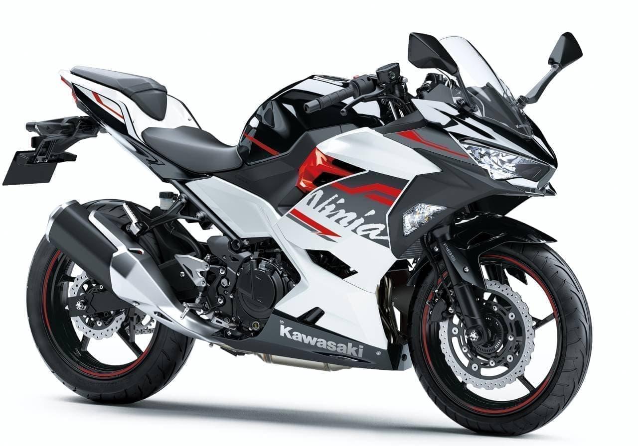 カワサキ「Ninja 250」「Ninja 250 KRT EDITION」カラー&グラフィック変更
