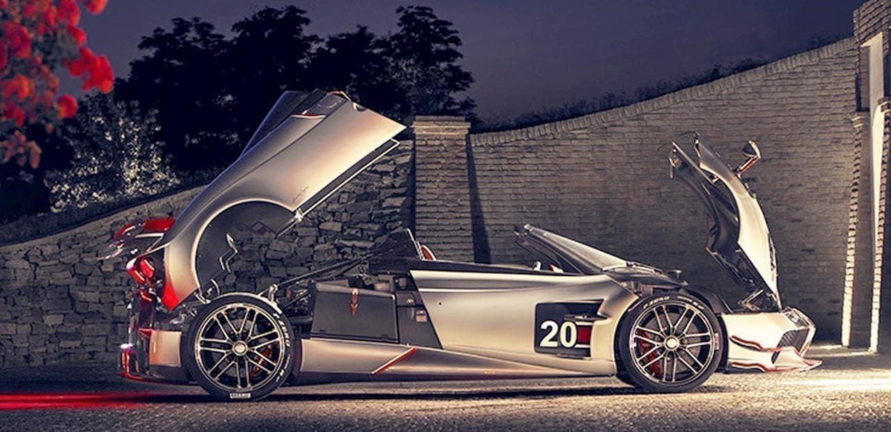 パガーニ「Huayra Roadster BC(ウアイラ ロードスター BC)」