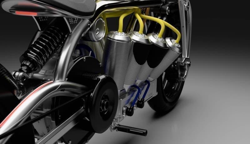 V8エンジンを模したバッテリーケースを持つ「Zeus」