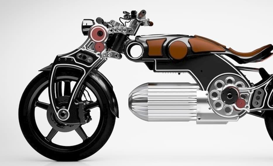 弾丸のようなバッテリーケースを持つ電動バイク「Hades」