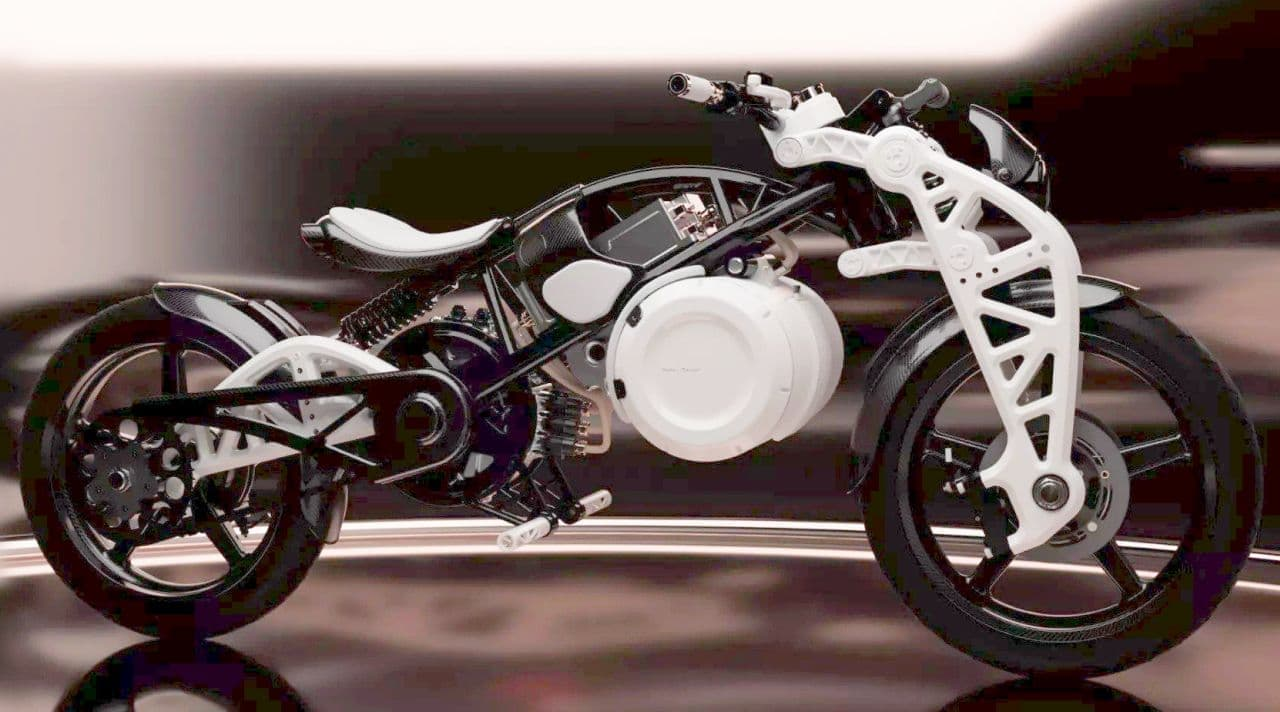 Curtiss Motorcyclesの電動バイク「Psyche」