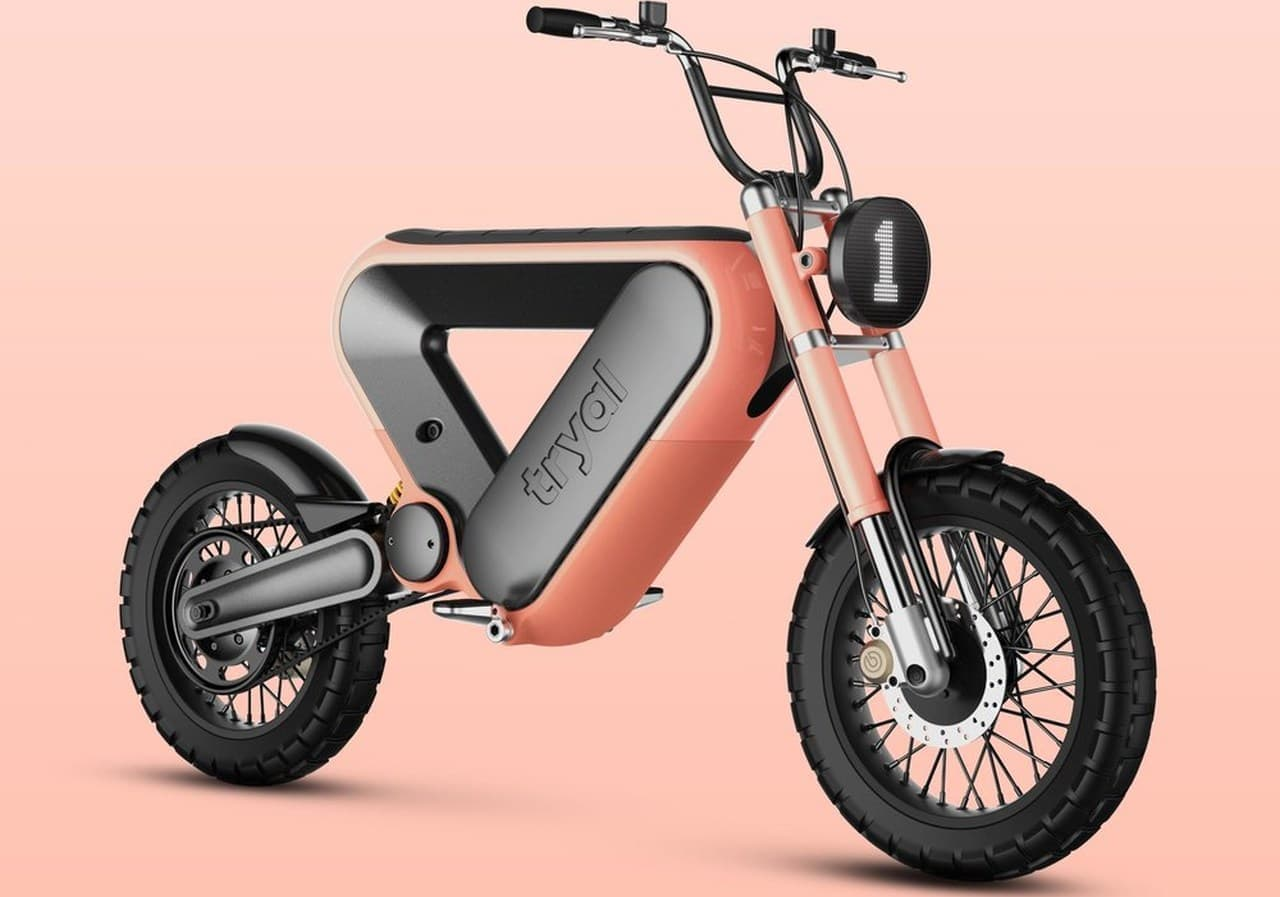 Erik Askinさんによる電動バイクデザイン「TRYAL」