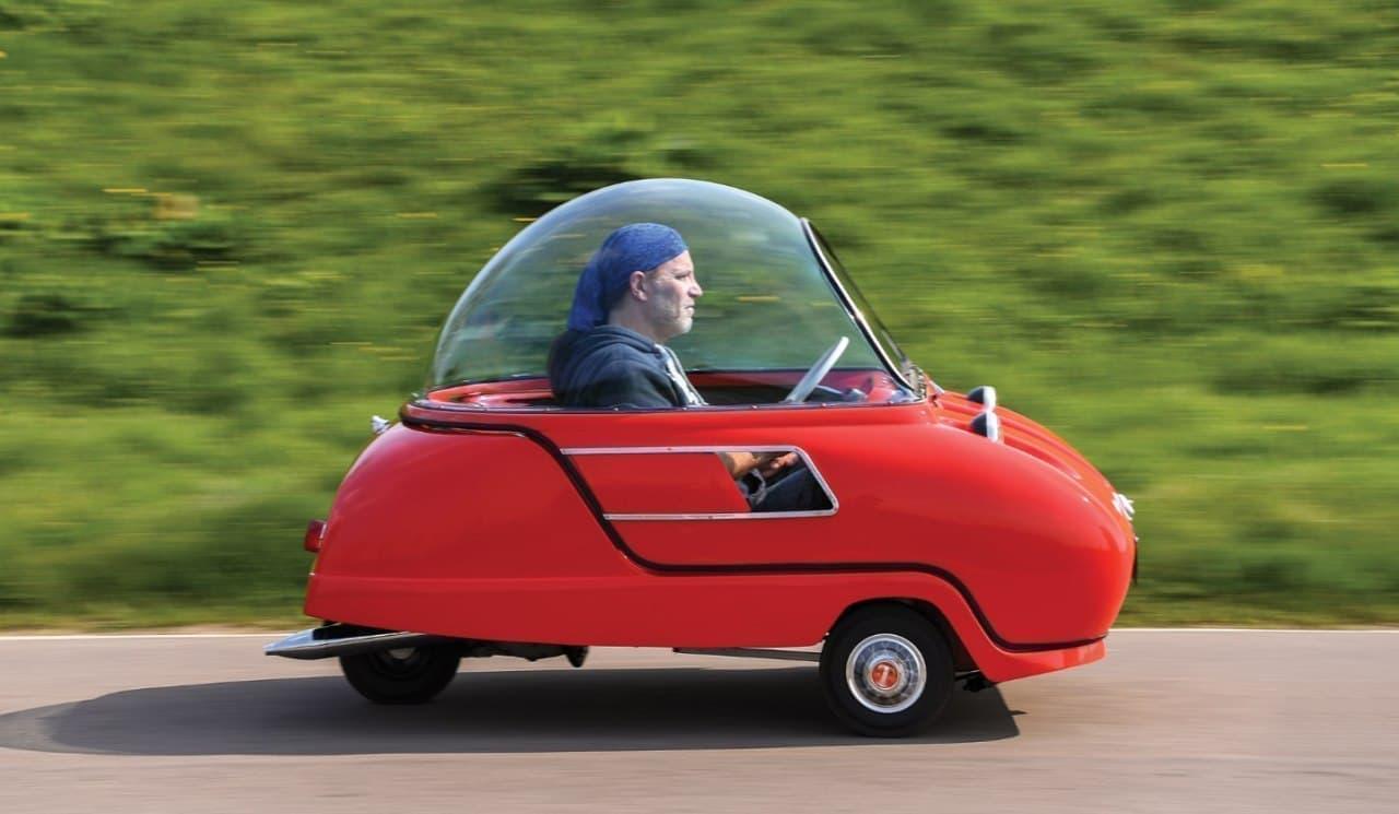 世界一小さい2人乗りのクルマPeel「Trident」