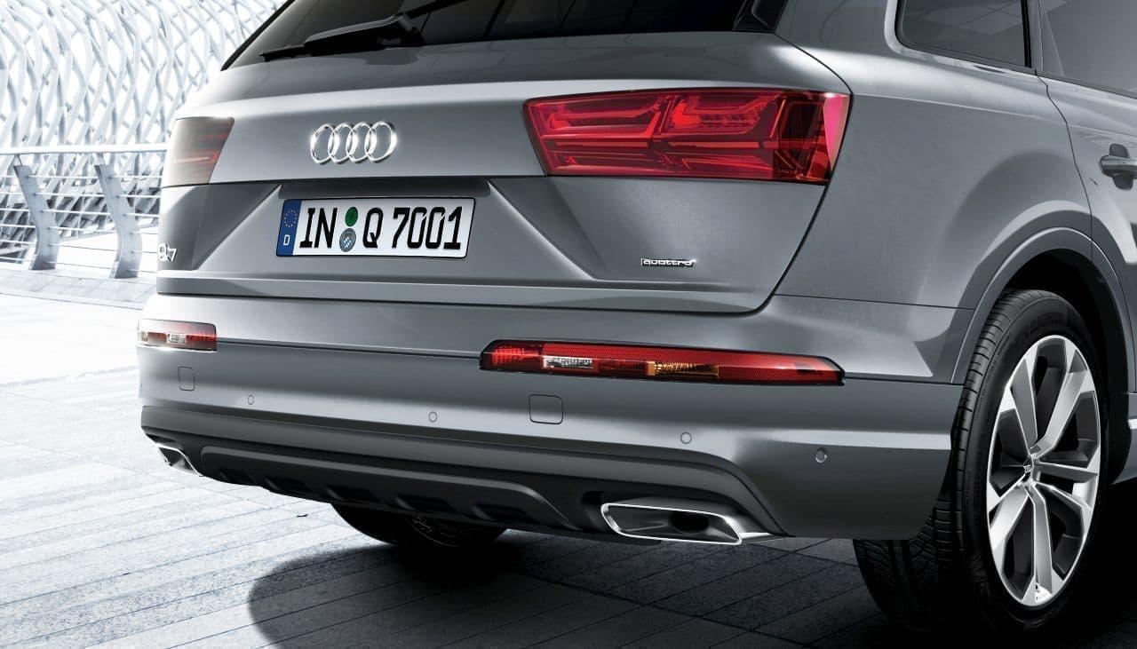 3列シートのSUV、Audi Q7にシックな限定モデル「urban black」