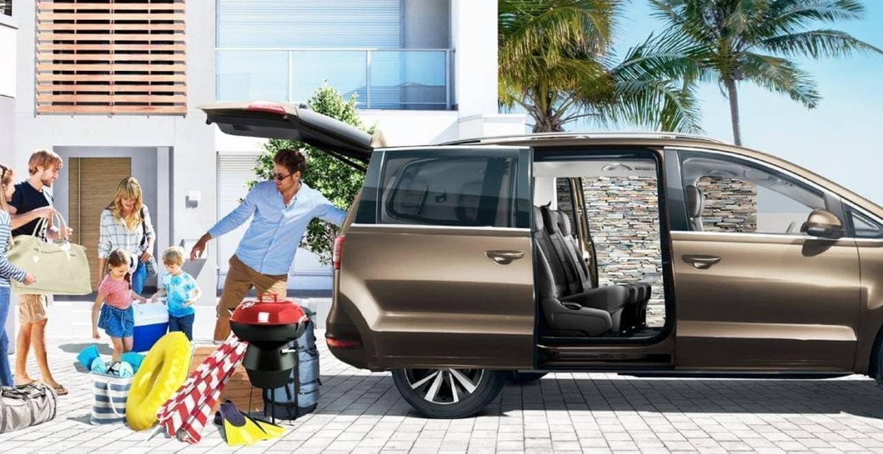 7人乗り3列シート、VW「Sharan(シャラン)」にディーゼルエンジンモデル「Sharan TDI Highline」