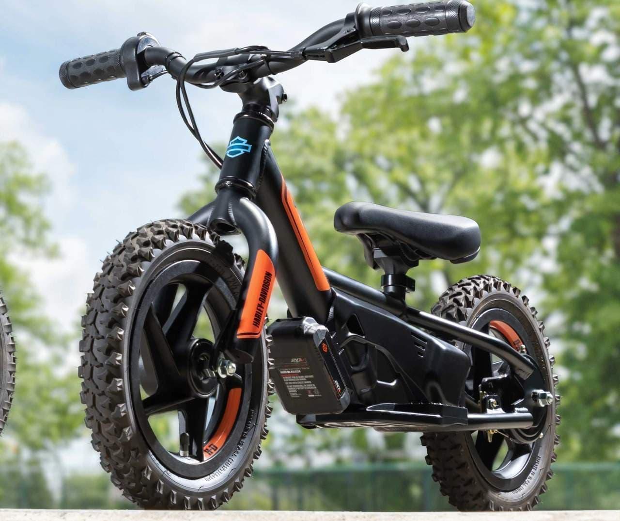 ハーレーが3歳児向けの電動バランスバイクを発表