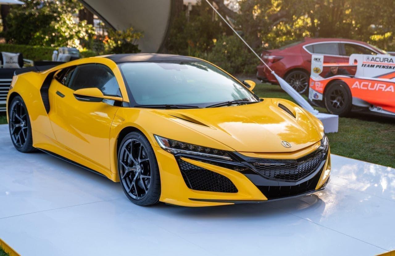 ホンダが「NSX」の2020年モデルをモントレーカーウィークで公開