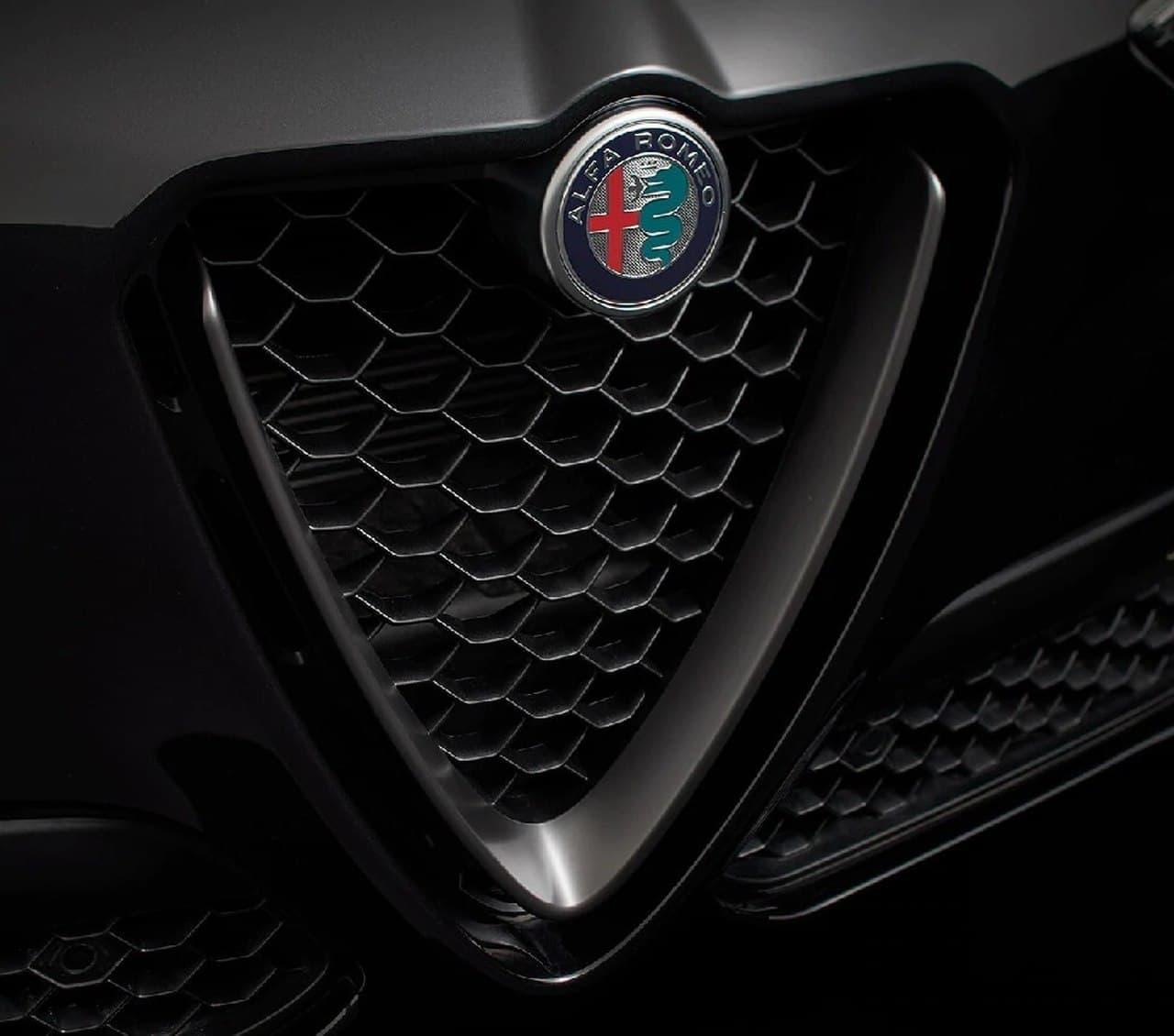 アルファロメオ「Stelvio」に限定車「モノクロームエディション」
