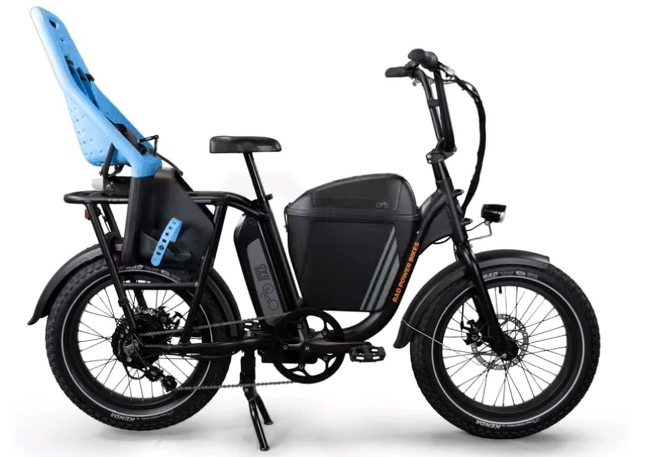 電動バイクにカーゴバイクの便利さをプラス「RADRUNNER」