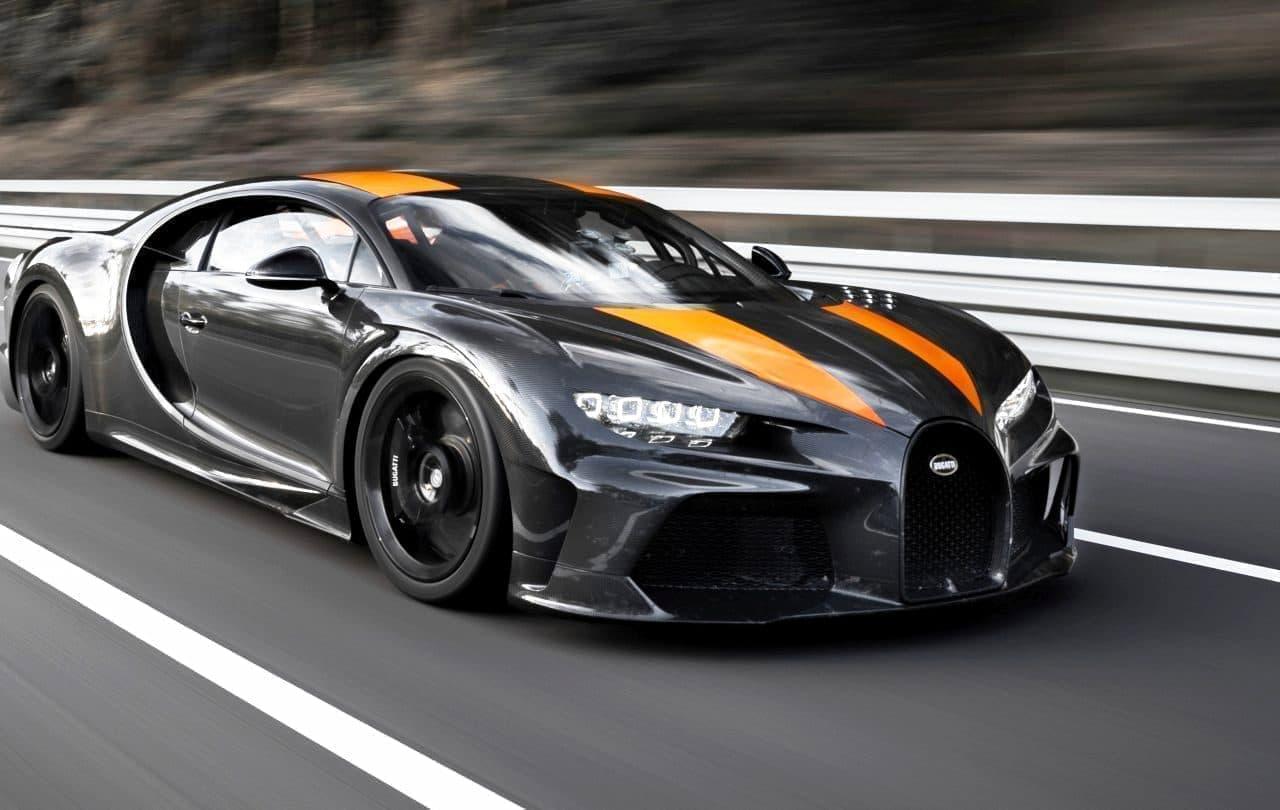 ブガッティ「シロン」が世界最高スピードを記録