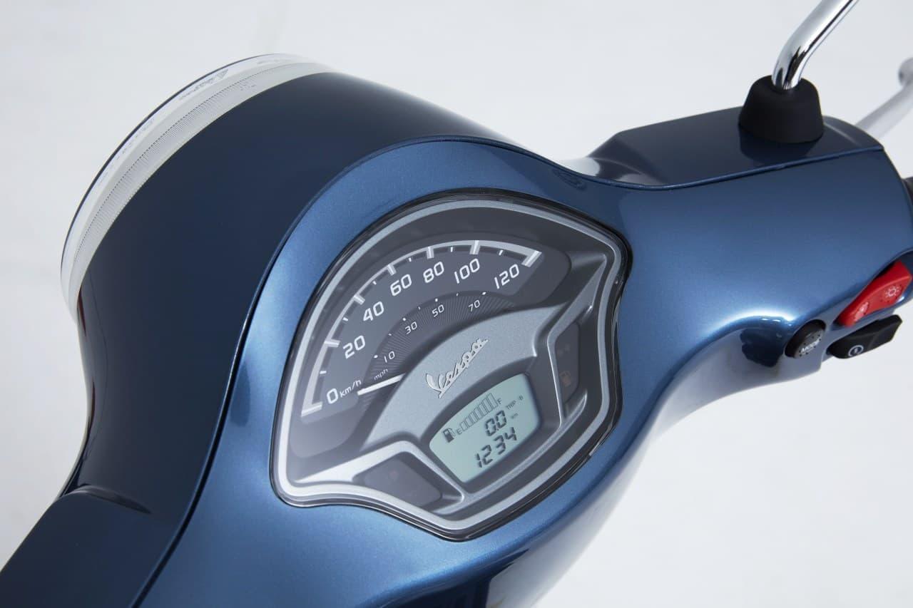 最も軽くて小さなベスパ 改良新型「Vespa LX 125 i-get」