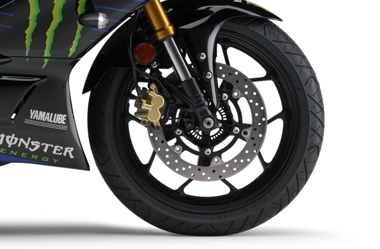 ヤマハ「YZF-R3 ABS」「YZF-R25 ABS」に、MotoGPマシンのイメージを再現した限定モデル