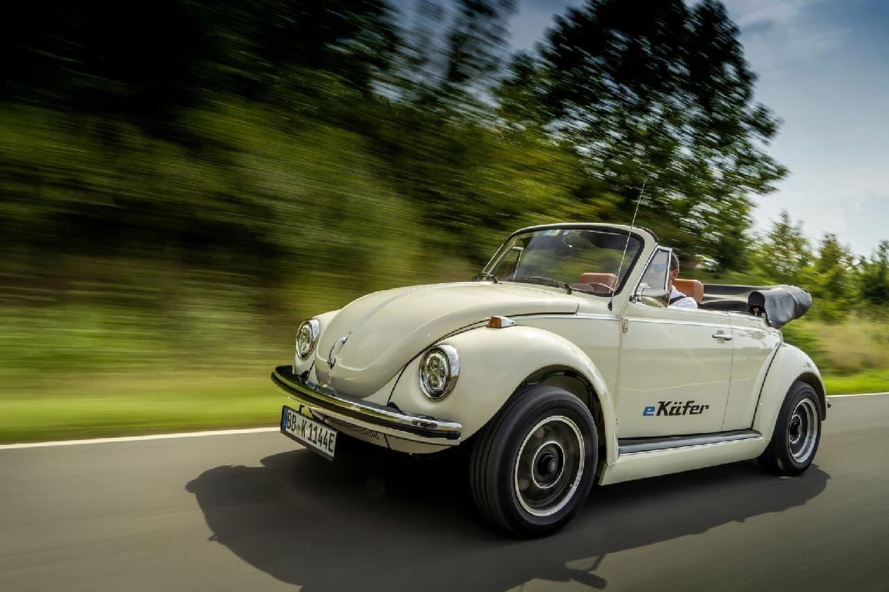 VWが「e-Beetle」をお披露目