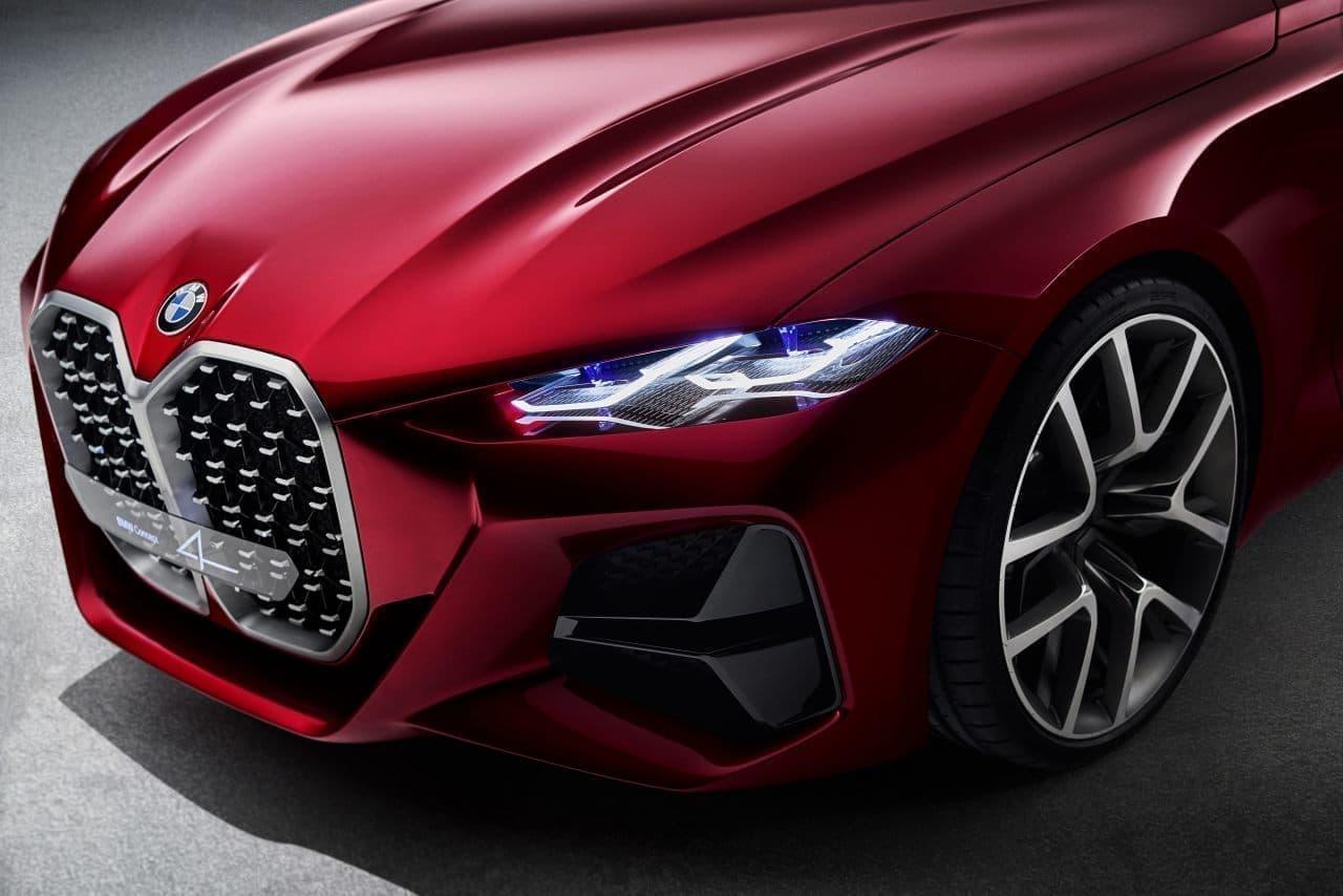 BMW「Concept 4」、フランクフルトモーターショーで公開