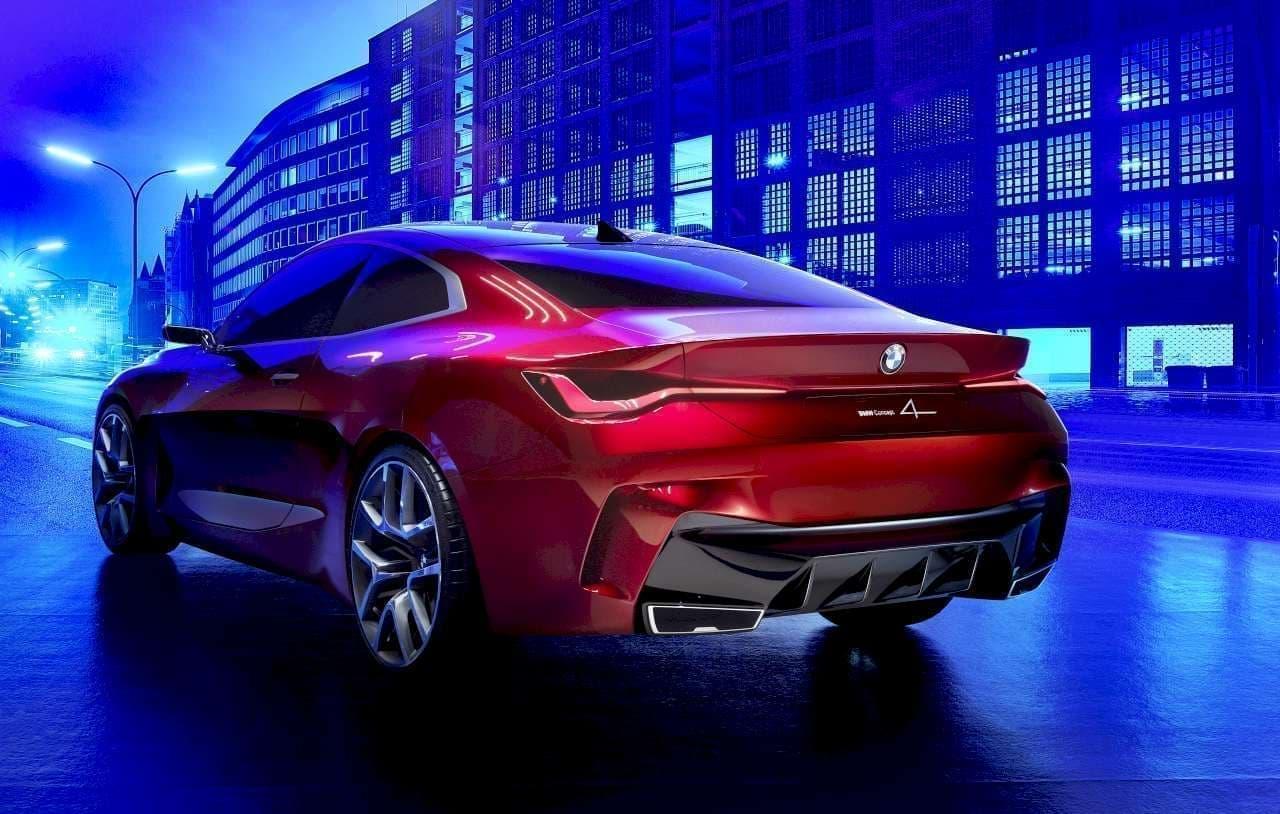 垂直グリルがゴツい、ミラーが細い―BMW「Concept 4」