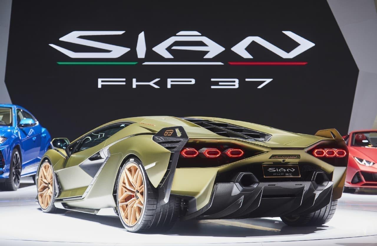 819馬力のランボルギーニ、正式名称は「シアン FKP 37」に ― フランクフルトモーターショーでお披露目