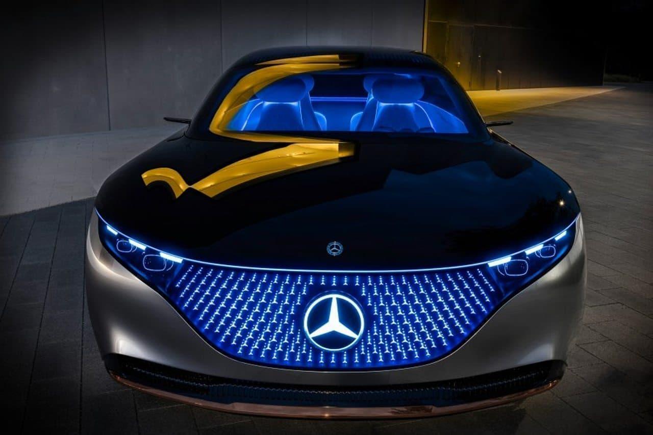 メルセデス・ベンツの未来、そしてクルマの未来を示す「ヴィジョン EQS」、フランクフルトモーターショーでお披露目