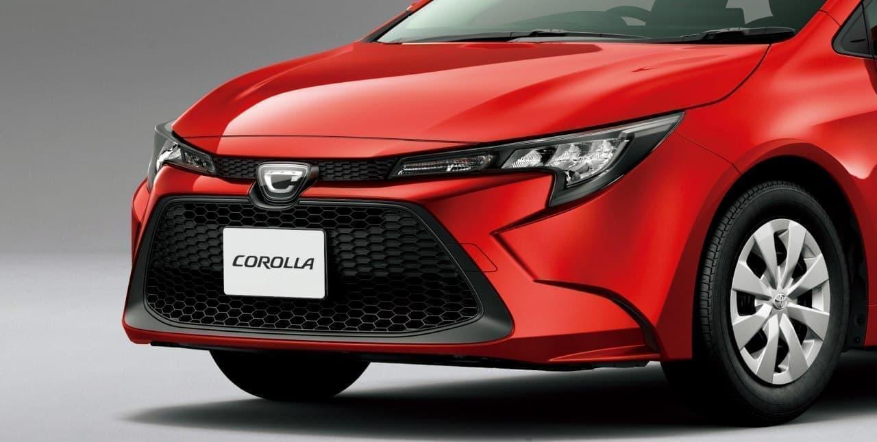 トヨタ「カローラ」フルモデルチェンジ―海外モデルより135ミリ短い、国内専用設計で登場