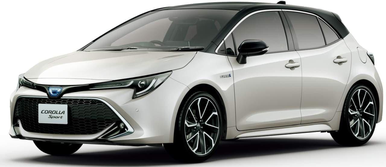 トヨタ「カローラ スポーツ」一部改良 ― 新色「エモーショナルレッドII」追加